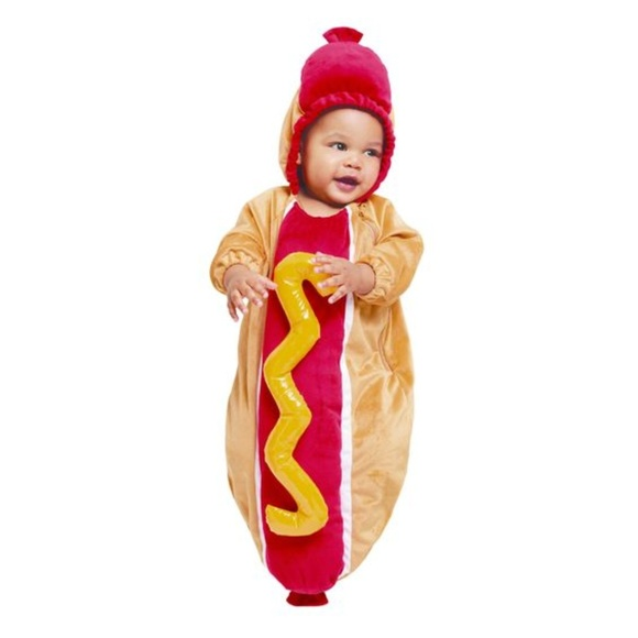 Boutique Hot Dog Baby Costume - 0-6M  sc 1 st  Poshmark & Hyde u0026 Eek! Boutique Costumes | Hyde Eek Boutique Hot Dog Baby ...